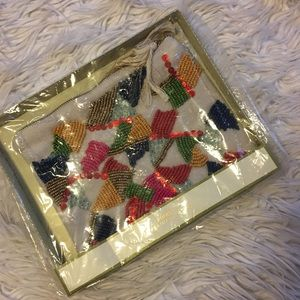 Target Multi color beaded sequins Pouch